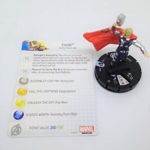 Heroclix-Age-of-Ultron-Movie-set-Thor-005-Gravity-Feed-figure-w-card