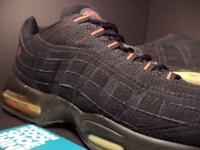 2000 Nike Air Max 95 1995 schwarz COMET rot rot rot Brot SUEDE 604116-063 11.5 505fc1