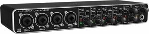 NEW-Behringer-UMC404HD-U-Phoria-4x4-USB-Audio-Interface-4-Midas-mic-preamps