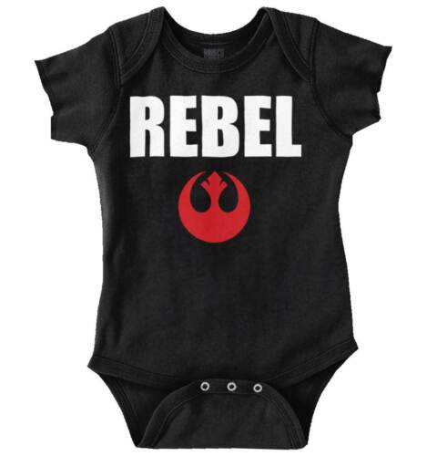 Rebel Star Wars Cool Gift Cute Darth Vader Yoda Han Solo Edgy Romper Bodysuit