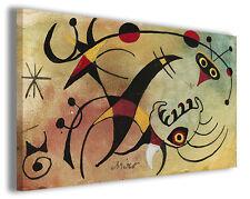 Quadri famosi Joan Mirò vol VI Stampa su tela arredo moderno arte design canvas