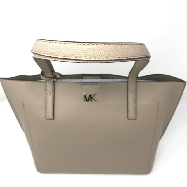 0c5f45656c5d Michael Kors Ana Pebbled Leather Tote - Truffle 30F8TX4T8L-208 Gold Accents  NWT