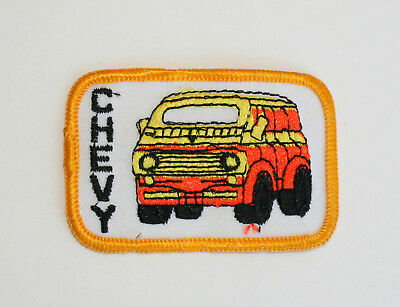 American Expressive Vtg Custom Small Chevy Chevrolet Mod Racing Van Patch New Nos 1970s Luxuriant In Design
