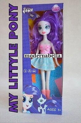 Obbediente Bambola In Scatola Pony Equestria,rarity ,bianca, Con Scarpe , Da Pettinare