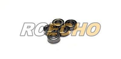 RCS Model R188ZZ/C Ceramic Ball Bearing (6.35x12.7x4.762mm, 5pcs) CC418