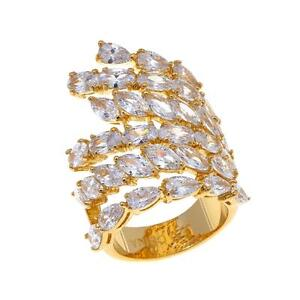 Joan-Boyce-034-Fabulous-With-Flair-034-Goldtone-12-85-Ctw-Cz-Sideswept-Ring-Size-8-Hsn