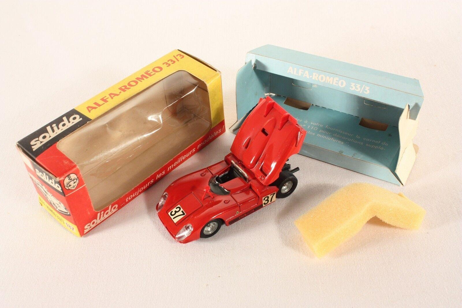 Solido 187, ALFA ROMEO 33 3, Mint in Box  ab717