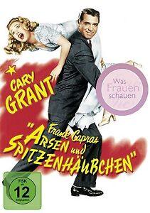 Arsen-und-Spitzenhaubchen-Cary-Grant-DVD-OVP-NEU