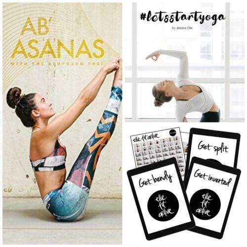 YOGA 10 GUIDES Fitness Ab Asanas Southern Yogi Elle Fit Active Jessica Olie