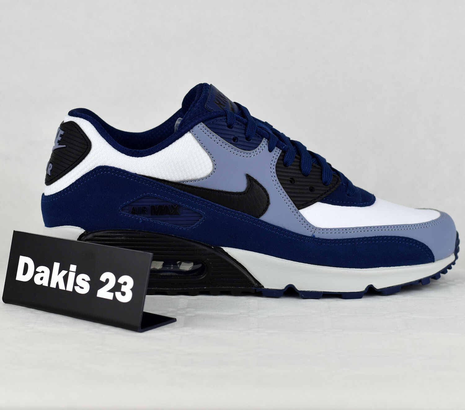 Nike Air Max 90 Pelle Uomo Lifestyle Fashion  New New  Blue Void 302519-400 c2a3e2