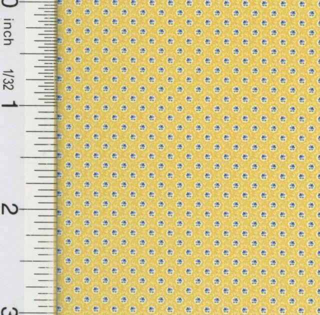 3 Sheets Natasha Yellow 193D234 Dollhouse Wallpaper