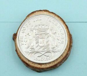 Feinsilber-Medaille-1000er-1806-1968-Maximilian-Koenig-von-Joseph-Bayern-P80