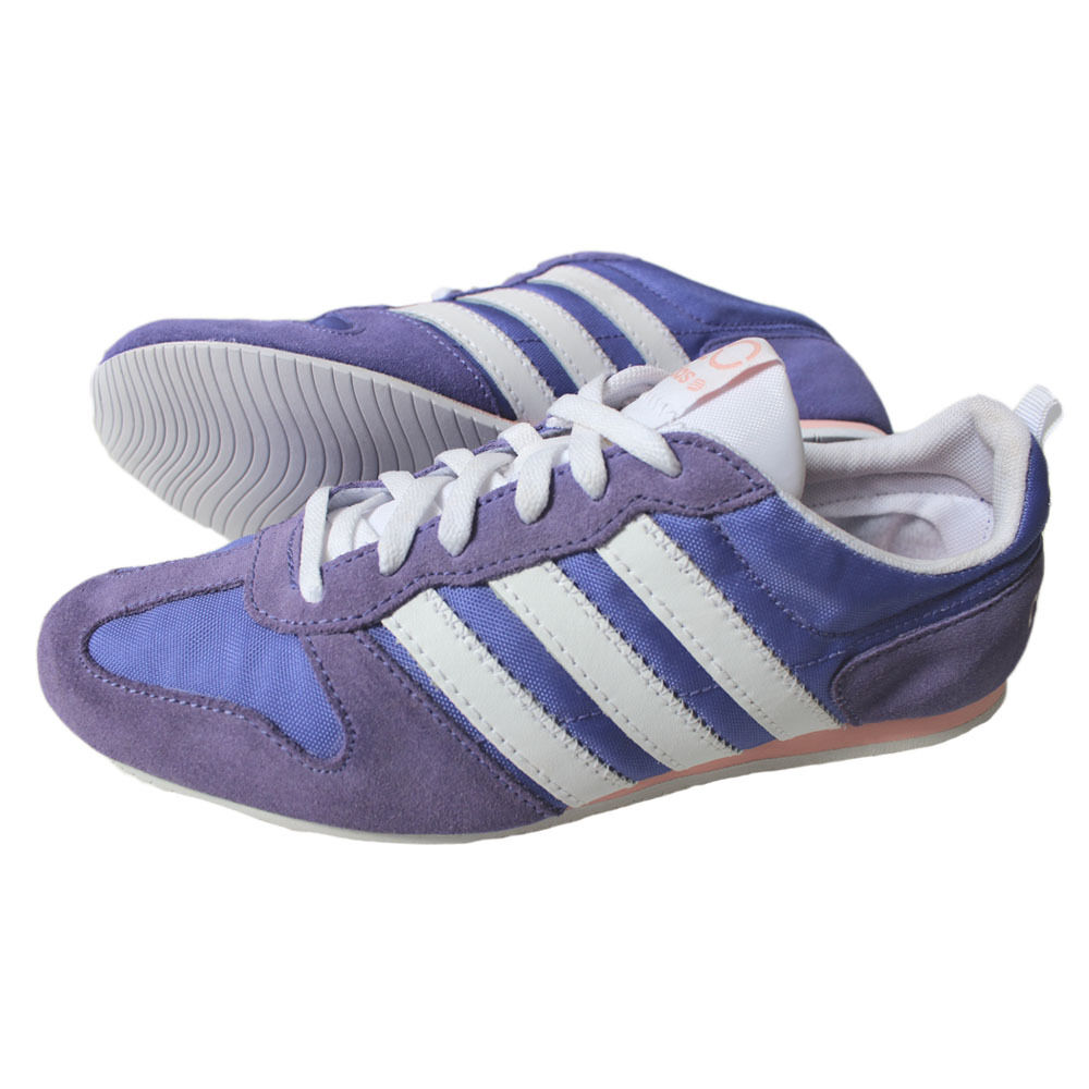 Adidas Runneo Slim Jog W shoes Trainers Trainers Neo Purple White Ladies