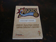 2000-01 Fleer---Philadelphia 76ers---Stadium Giveaway---Complete Set 1-7---XHTF