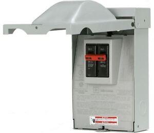 Disconnect Box 60 Amp 240v