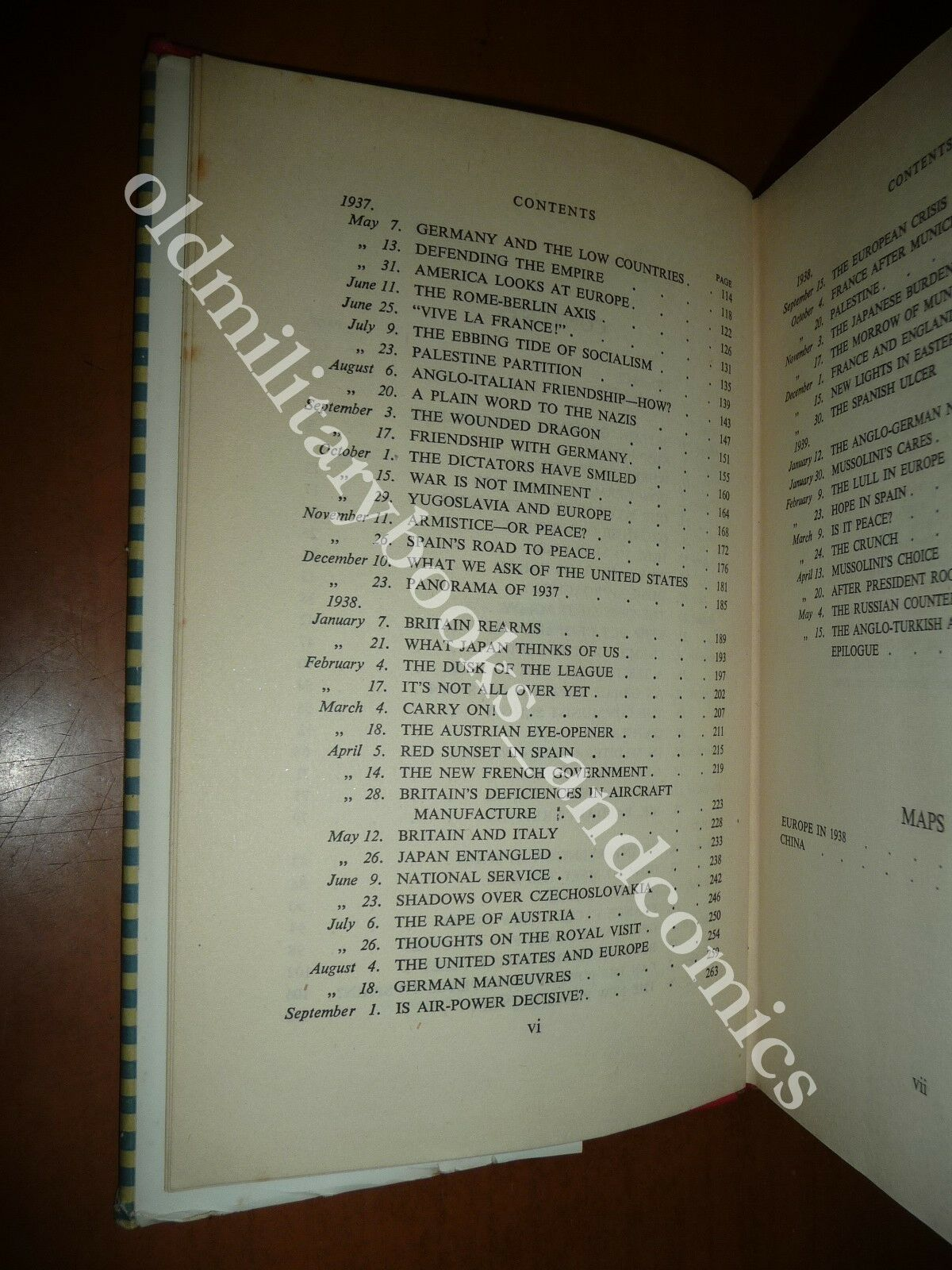 STEP BY STEP 1936-1939 WINSTON CHURCHILL 1947 STORIA EUROPA SPAGNA AUSTRIA