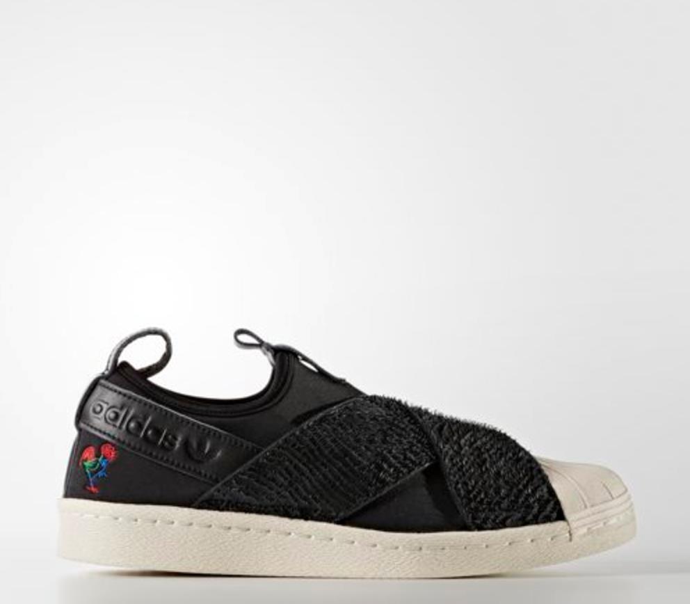 [] bb3120 sulle adidas superstar originali scivolare sulle bb3120 scarpe da ginnastica unisex sz 4 - 9 89e9f4