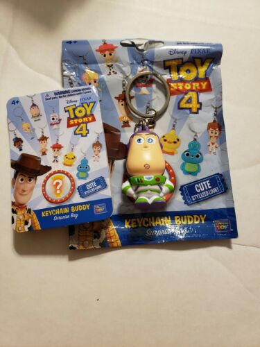Toy Story 4 BUZZ LIGHTYEAR Keychain Buddy Surprise Bag From Thinkway Toys
