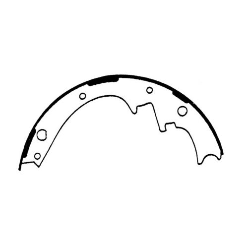 Drum Brake Shoe-Premium Brake Shoes-Preferred Front,Rear Centric 111.05810