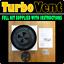 SPINNING-van-roof-sfiato-nuova-ventola-BASSO-PROFILO-Dog-Pet-Cavallo-veicolo-4x4-Aria-Vento-UK miniatura 2