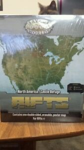 North America Castle Refuge Map New Rifts Savage Worlds Sealed