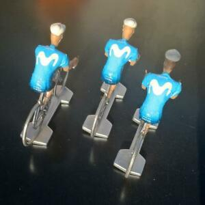 3-cyclistes-miniatures-Tour-de-france-Cycling-figure-Movistar-2019
