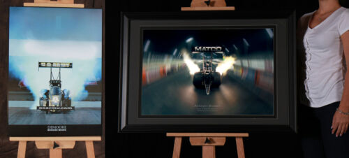 TONY SCHUMACHER /& ANTRON BROWN Unsigned Prints Combo By DEMOORE