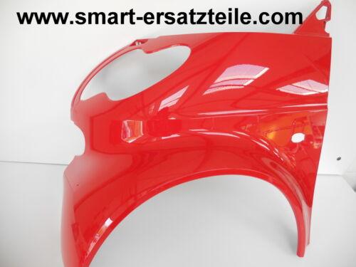 rot Kotflügel Smart 450 Coupe Facelift Model Phad Red Vorne Links