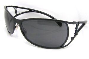 Yves-Saint-Laurent-6116-s-lunettes-de-soleil-gris-origine-YSL-fashion-style-accessoire