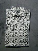 Zara Man Slim Fit Button Front Shirt Medium