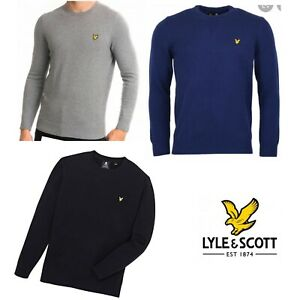 Lyle-and-Scott-Crew-Neck-Cotton-Merino-Jumper-Xmas-sale