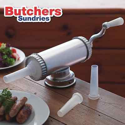 Chipolata Sausage Kit  - Sausage Stuffer, 100g Mix and 1 x 21mm Collagen Casings