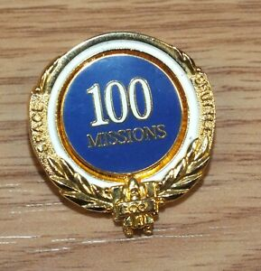 Boeing-100-Missions-Space-Shuttle-1981-2000-Collectible-Pin-Brooch-READ