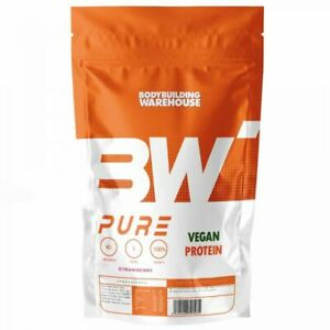 Pure Vegan Protein Powder 1kg 2kg Hemp Pea Soy Blend Prebiotic Fibre Plant Based