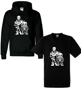 New-Kids-Undertale-Sans-Papyrus-Hoodie-Hoody-T-shirt-Gaming-Boys-Girls-Fortnight