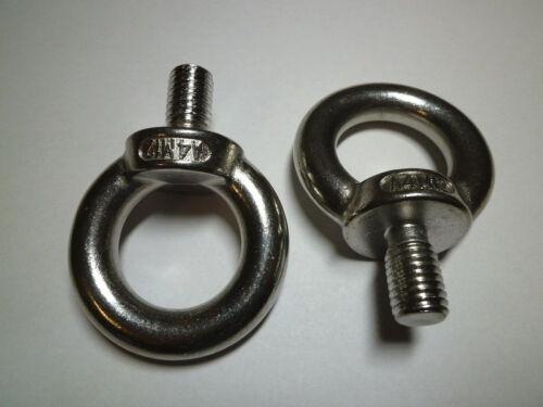 Ringschraube Acier inoxydable v4a DIN 580 pitons Œillet ring m5-m12