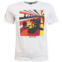 Puma SF Ferrari Kids Boys Graphic Crew Neck Boys T-Shirt 761748 03 R13