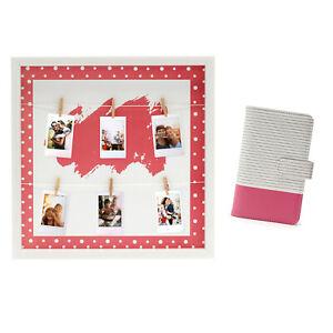 Fujifilm Instax mini Bilderrahmen & Fotoalbum flamingopink