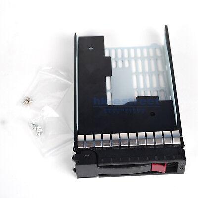"3.5/"" SATA SAS Hard Drive Tray Caddy 373211-001 For HP DL120 DL360 DL320 G6 G7"