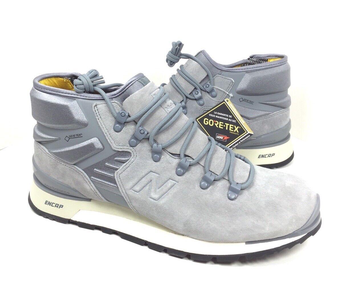 NEW New Balance Mens Niobium Grey White Black Mid Sneaker Shoes MLNBDCC Size 12