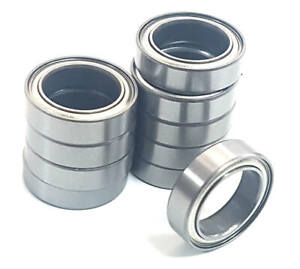 10-X-Rodamientos-de-Bola-18mmx-12mmx-4mm-18x12x4-18-x-12-x-4-Cromo-Acero-Escudo