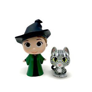 Funko Mystery Minis Harry Potter Series 1 Minvera McNonagall & Cat Vinyl Figures
