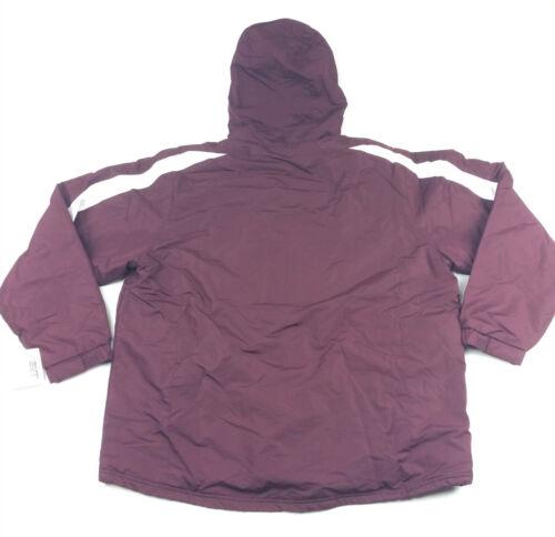Holloway MTF Charger Athletic Fullzip Fleece Lined Jacket Men/'s XL Maroon 229059