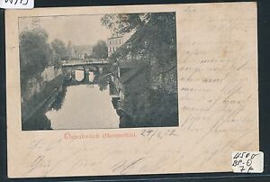 Capable 05973) Ak Osnabrück, Haseparthie Bahnpost Hambourg-o. Train 711, 1902-afficher Le Titre D'origine Vous Garder En Forme Tout Le Temps