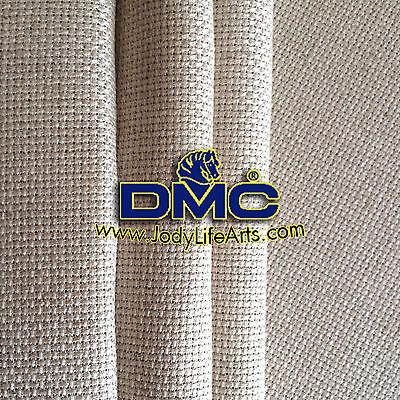 Cross Stitch Aida Fabric - 14ct linen, 50cm X 50cm