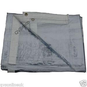 GLASS-CLEAR-PVC-2M-x-4-6M-TARPAULIN-Market-Stock-Transparent-Cover-Sheet-Tarp