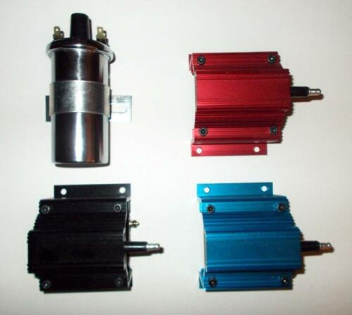 FORD 221-260-289-302 BLACK Small Cap HEI Distributor Black 45,000 Volt Coil