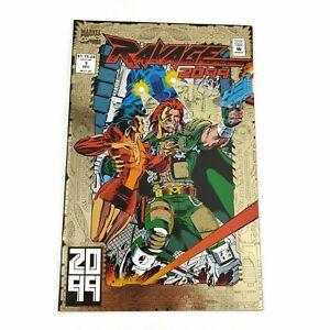 Marvel-Comics-Ravage-2099-1-Foil-Cover-1992-Direct-Edition-Stan-Lee-Paul-Ryan