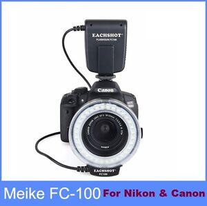 Meike-FC100-Flash-Light-Macro-Ring-For-Canon-amp-Nikon-D7100-D7000-D5200-D5100
