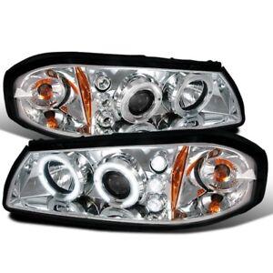 DAMON ESCAPER 2004 2005 BLACK LED PROJECTOR HEADLIGHTS HEAD LAMP RV